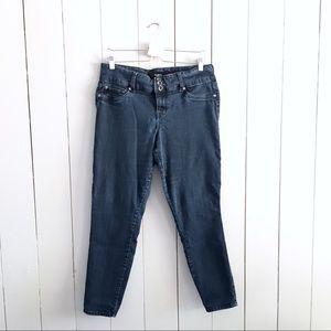 Torrid Plus Skinny Jeans Sz 14 Dark Denim Wash
